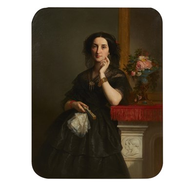 Lot 29-DOMINIQUE ANTOINE JEAN-BAPTISTE MAGAUD (FRENCH 1817-1899)