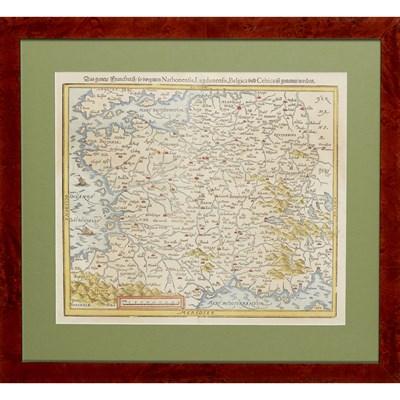 Lot 111 - 9 MAPS INCLUDING MUNSTER, SEBASTIAN