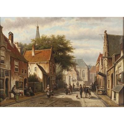 Lot 44-WILLEM KOEKKOEK (DUTCH 1839-1895)