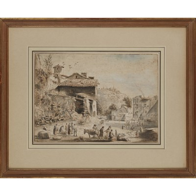 Lot 2-JEAN-JACQUES DE BOISSIEU (FRENCH 1736-1810)
