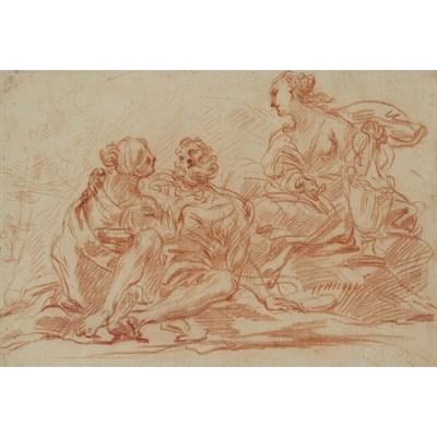 Lot 17-DOMENICO MARIA CANUTI (ITALIAN 1620-1684)
