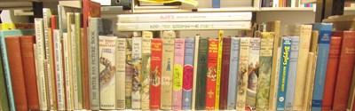 Lot 40-CHILDREN'S BOOKS, 62 VOLUMES