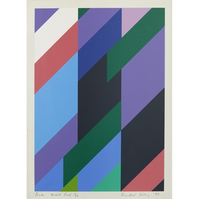 Lot 3-BRIDGET RILEY C.H., C.B.E. (BRITISH, B.1931)