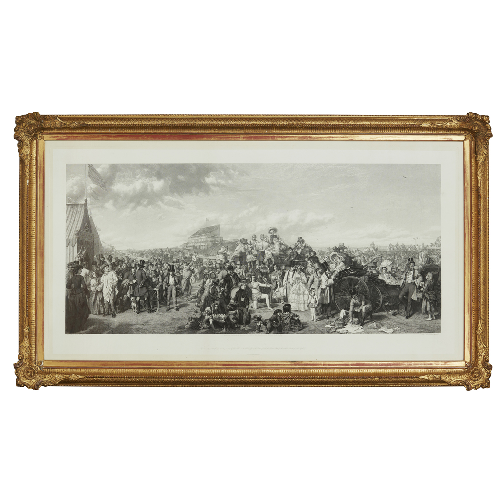 Lot 5-WILLIAM POWELL FRITH (BRITISH 1819-1909) DERBY...