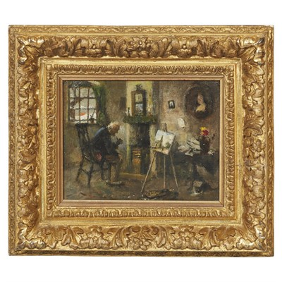 Lot 8 - ATTRIBUTED TO CHARLES SPENCELAYH THE ARTIST'S...