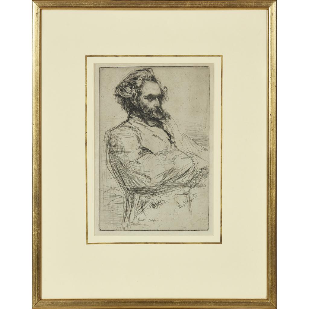 Lot 29-JAMES ABBOTT MCNEIL WHISTLER (AMERICAN 1834-1903) ...