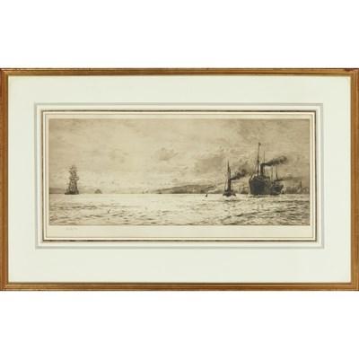 Lot 70 - WILLIAM LIONEL WYLIE R.A. (BRITISH 1851-1931)...