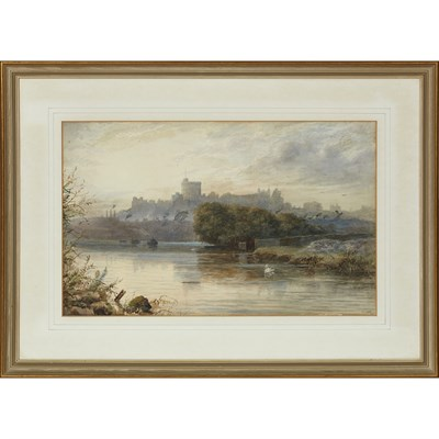 Lot 89 - F. J. LEES (19TH CENTURY BRITISH) WINDSOR...