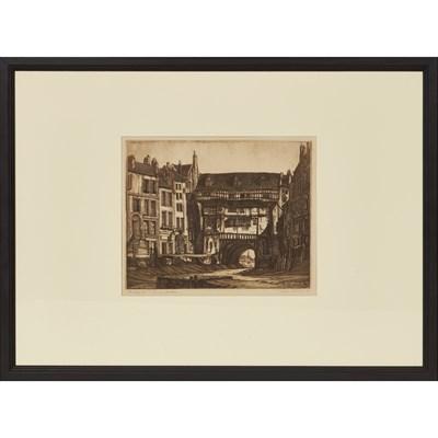 Lot 43 - JOSEPH WEBB (BRITISH 1908-1962) THE GLORY HOLE...
