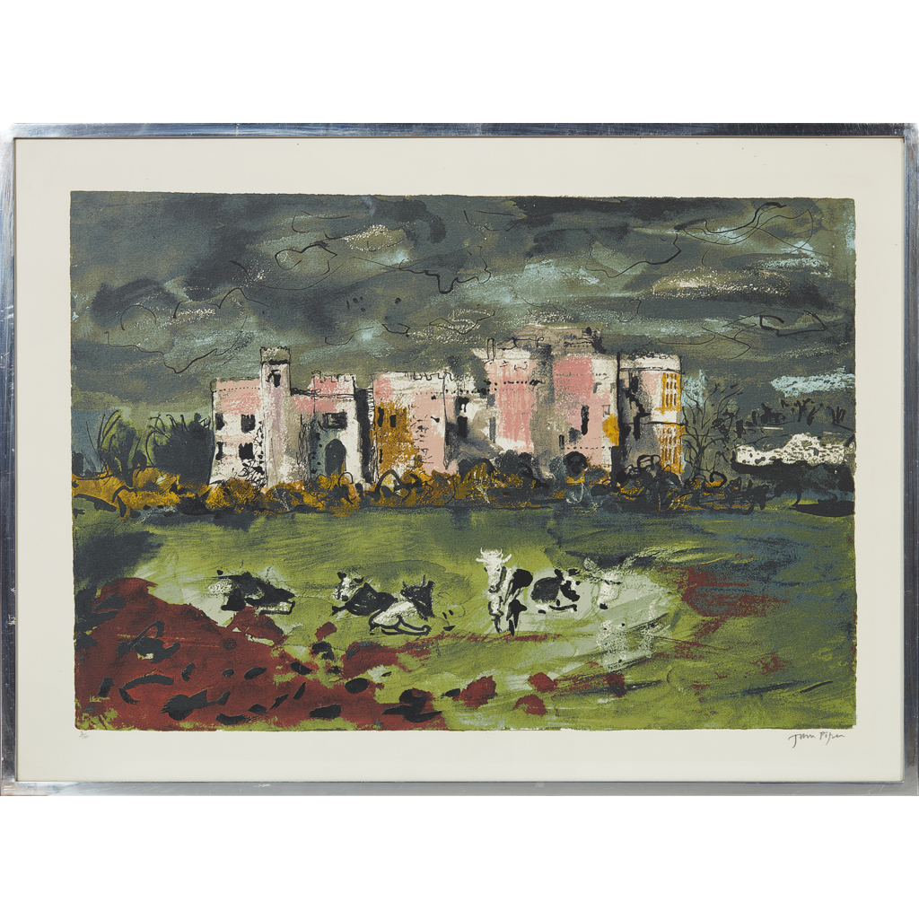 Lot 237 - JOHN PIPER C.H. (BRITISH 1903-1992) CAREW...