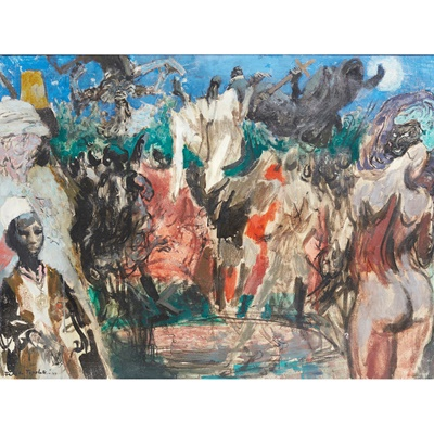 Lot 64 - Feliks Topolski R.A. (Polish 1907-1989)