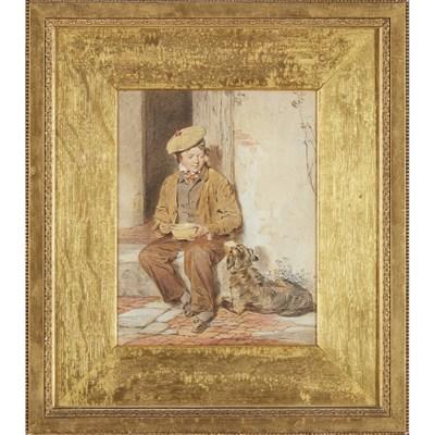 Lot 34 - OCTAVIUS OAKLEY R.W.S. (BRITISH 1800-1867)
