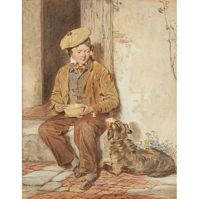 Lot 34-OCTAVIUS OAKLEY R.W.S. (BRITISH 1800-1867)