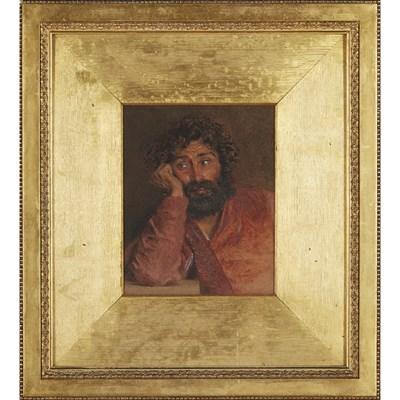 Lot 9-WILLIAM HENRY HUNT (BRITISH 1790-1864)