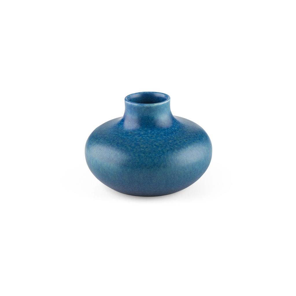Lot 80 - SMALL ROBIN'S EGG GLAZE WATER DROPPER