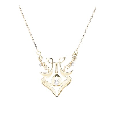 Lot 28-An 18ct gold bespoke diamond set pendant, Margot Gardiner