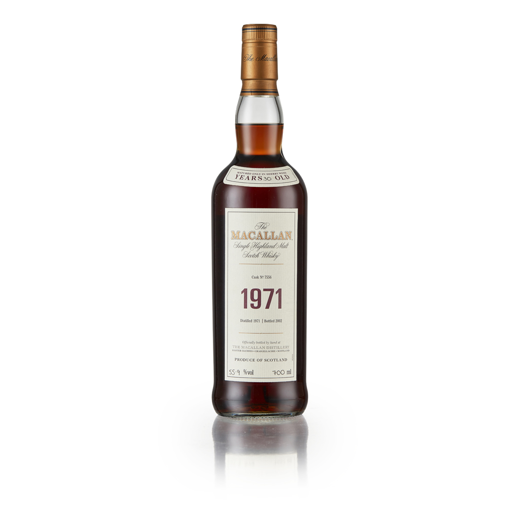 42 - THE MACALLAN FINE AND RARE 1971 30 YEAR OLD
