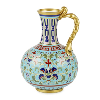 Lot 41 - ATTRIBUTED TO CHRISTOPHER DRESSER FOR MINTON & CO.