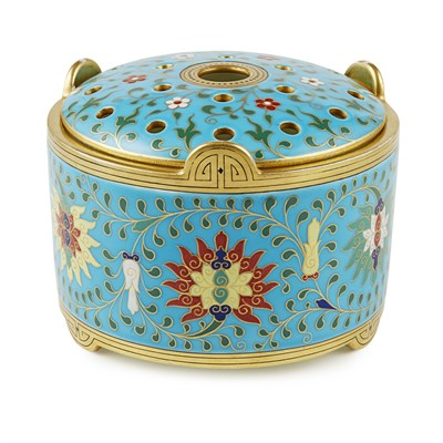 Lot 40 - ATTRIBUTED TO CHRISTOPHER DRESSER FOR MINTON & CO.