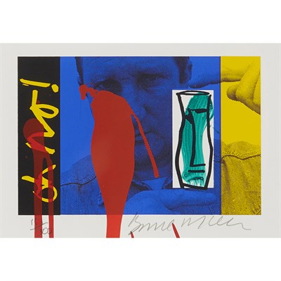 Lot 62-BRUCE MCLEAN  (SCOTTISH B.1944)