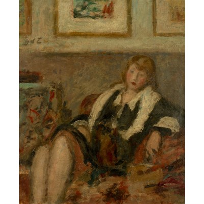 Lot 24-GEORGES D'ESPAGNAT (FRENCH, 1870-1950)