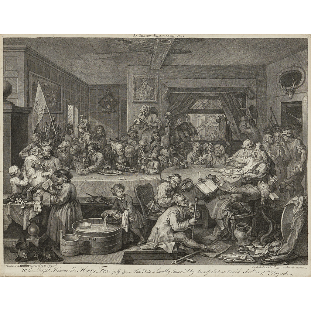 Lot 14-WILLIAM HOGARTH (BRITISH 1697-1764)
