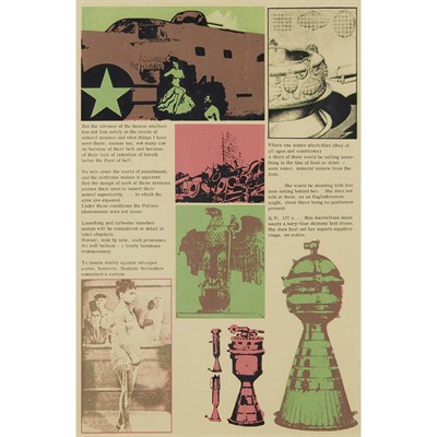 Lot 51 - SIR EDUARDO PAOLOZZI K.B.E., R.A., H.R.S.A. (SCOTTISH 1924-2005)