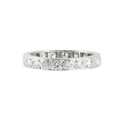 Lot 85-A diamond set eternity ring