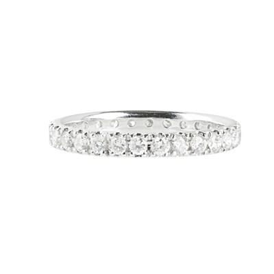 Lot 118 - A diamond set eternity ring