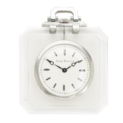Lot 93 - A French rock crystal pendant watch, René Boivin