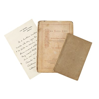 Lot 251 - GAELIC FOLKORE & EDUCATION, 3 ITEMS INCLUDING MACLEOD, REVD. DR KENNETH (1871-1955)