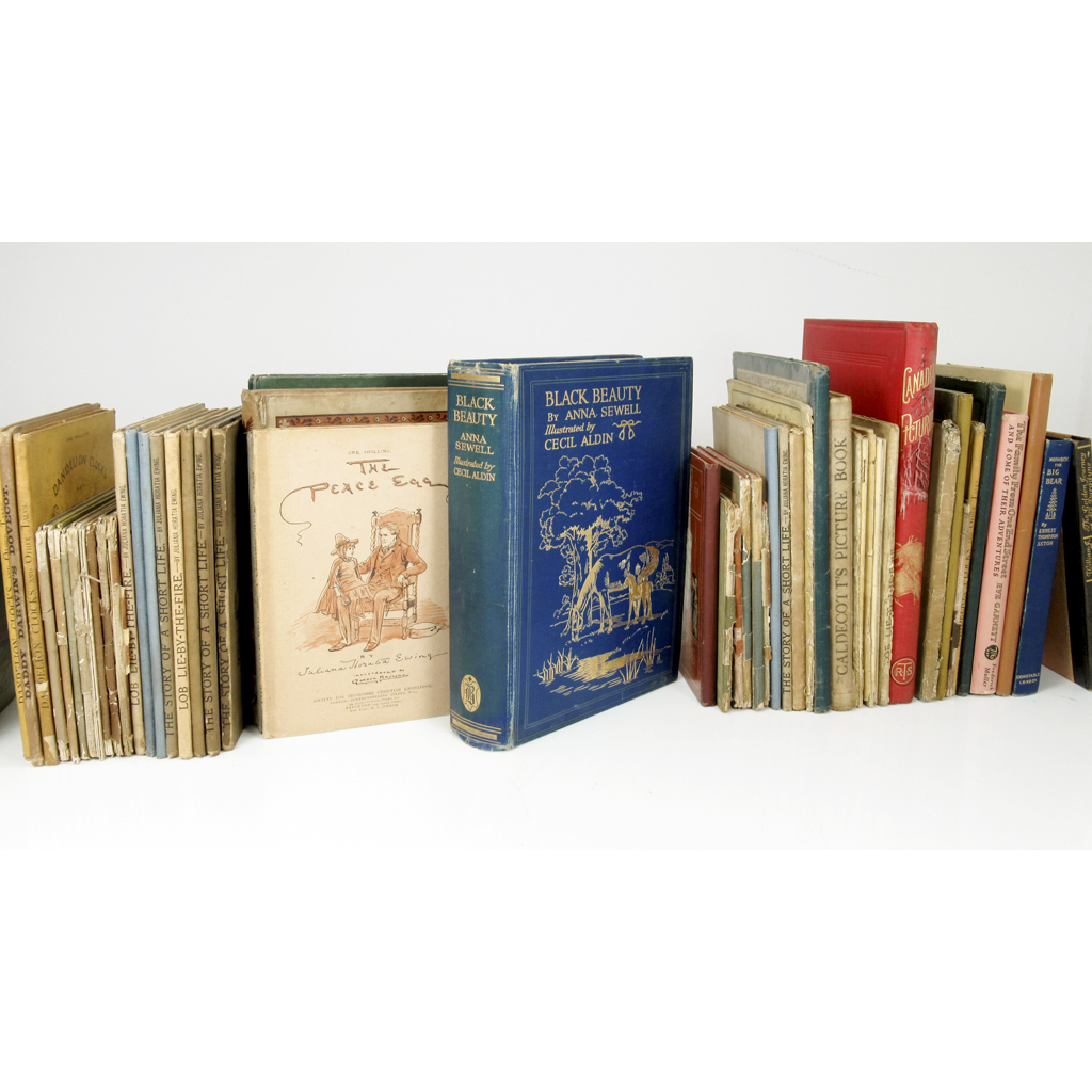 Lot 54 - ANNA SEWELL, KATE GREENAWAY, CECIL ALDIN AND OTHERS