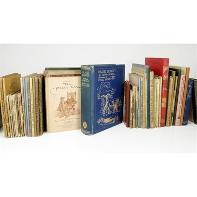 Lot 54-ANNA SEWELL, KATE GREENAWAY, CECIL ALDIN AND OTHERS