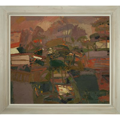 Lot 29 - SANDY MURPHY R.S.W., R.G.I. (SCOTTISH B.1956)