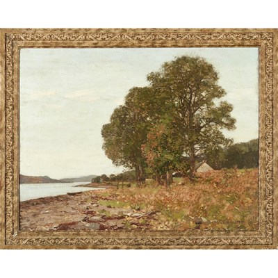 Lot 9-GEORGE HOUSTON R.S.A., R.S.W., R.I. (SCOTTISH 1869-1947)
