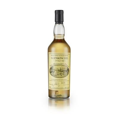 Lot 58 - GLENKINCHIE 15 YEAR OLD - THE MANAGER'S DRAM
