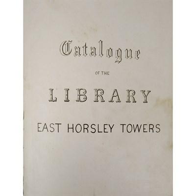 Lot 224-[KING, WILLIAM, 1ST EARL OF LOVELACE] - EAST HORSLEY TOWERS - [JOHN LOCKE'S LIBRARY]