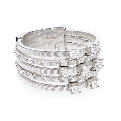 Lot 126 - A diamond set 'Goa' ring, Marco Bicego