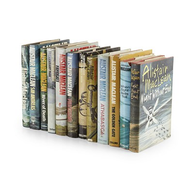 Lot 264 - MACLEAN, ALISTAIR, 12 FIRST EDITIONS
