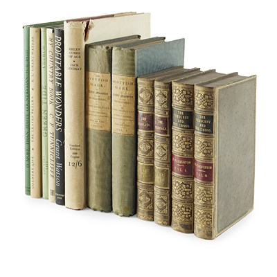 Lot 317 - MISCELLANEOUS BOOKS, 12 VOLUMES, INCLUDING