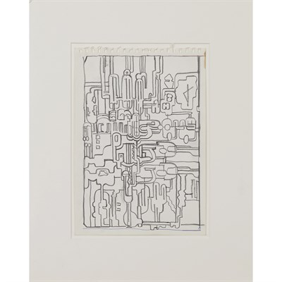 Lot 56-SIR EDUARDO PAOLOZZI K.B.E., R.A., H.R.S.A. (SCOTTISH 1924-2005)