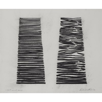 Lot 57-DAVID NASH O.B.E., R.A. (BRITISH B.1945)
