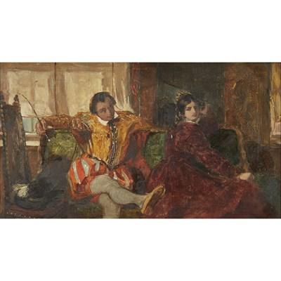 Lot 6 - AUGUSTUS LEOPOLD EGG R.A. (BRITISH 1816-1863)