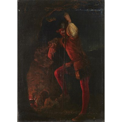 Lot 8-FOLLOWER OF DANIEL MACLISE