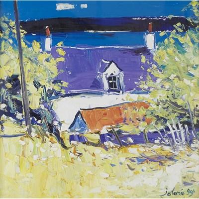 Lot 71 - JOHN LOWRIE MORRISON O.B.E. (SCOTTISH B. 1948)