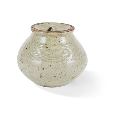Lot 19-BERNARD LEACH C.H., C.B.E. (BRITISH, 1887-1979) AT LEACH POTTERY
