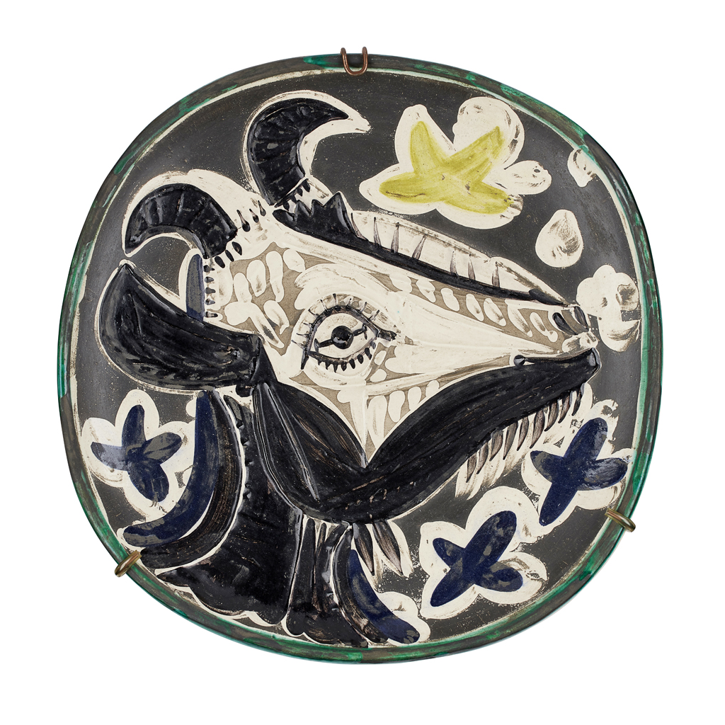Lot 175-PABLO PICASSO (SPANISH, 1881-1973) FOR MADOURA POTTERY