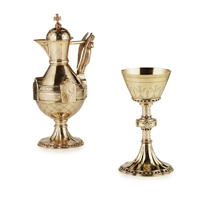 Lot 11-GEORGE C. GOLDIE (1828-1887) FOR THOMAS COX & SONS