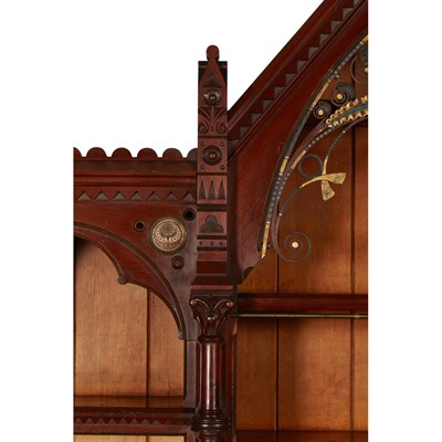 Lot 37-GOTHIC REVIVAL, WITH MOUNTS ATTRIBUTED TO FRANCIS ALFRED SKIDMORE (1817-1896)
