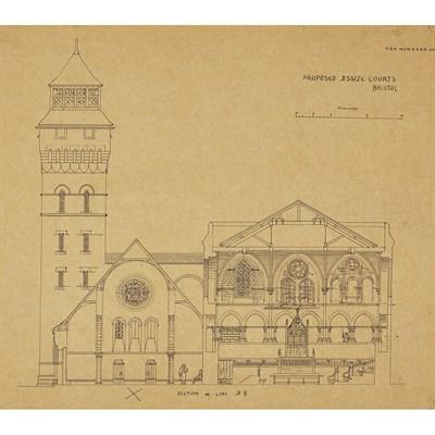 Lot 73-EDWARD WILLIAM GODWIN (1833-1886)